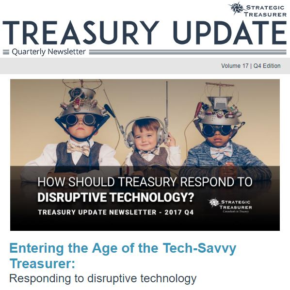 Winter 2017 Treasury Update Newsletter