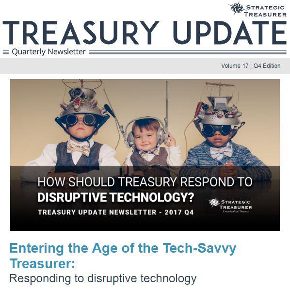 Winter 2017 Treasury Update Newsletter