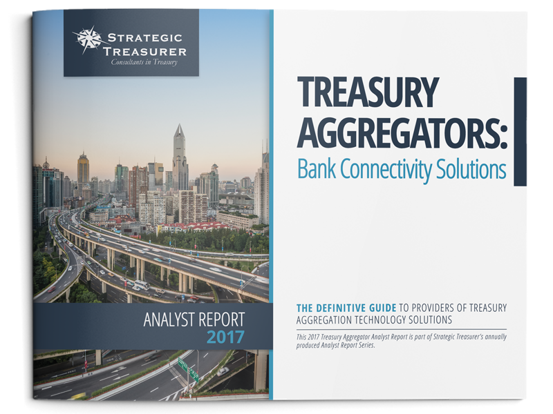 2016 Treasury Aggregator Analyst Report by Strategic Treasurer