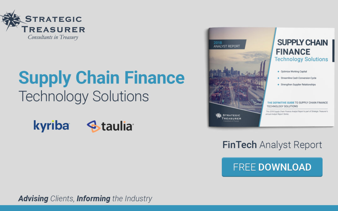 2018 Supply Chain Finance- FinTech Analyst Report