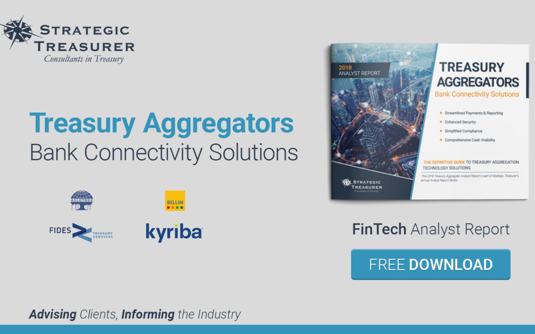 2018 Treasury Aggregators – FinTech Analyst Report