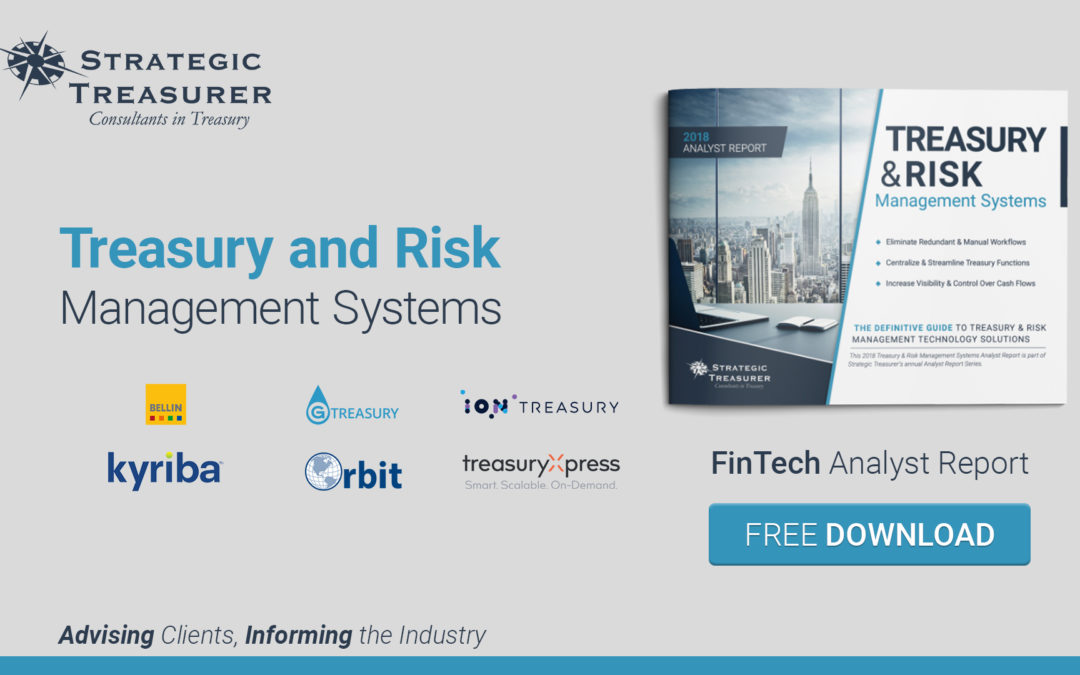 2018 Treasury and Risk Management Systems – FinTech Analyst Report