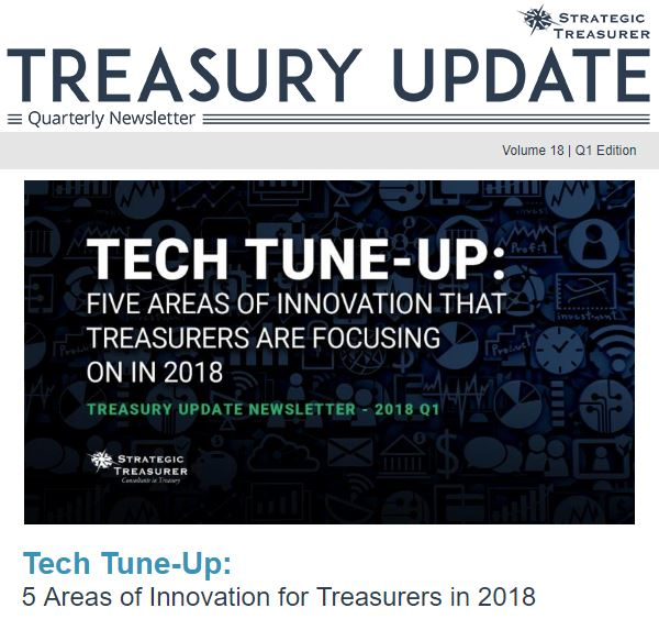 Spring 2018 Treasury Update Newsletter