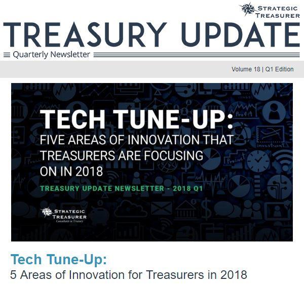 Spring 2018 Treasury Update Newsletter