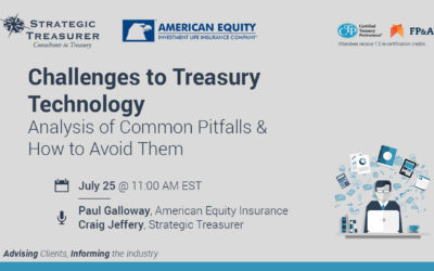 Challenges to Treasury Technology