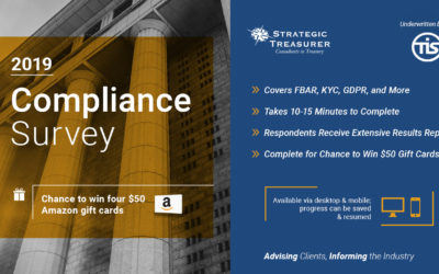 2019 Treasury Compliance Survey