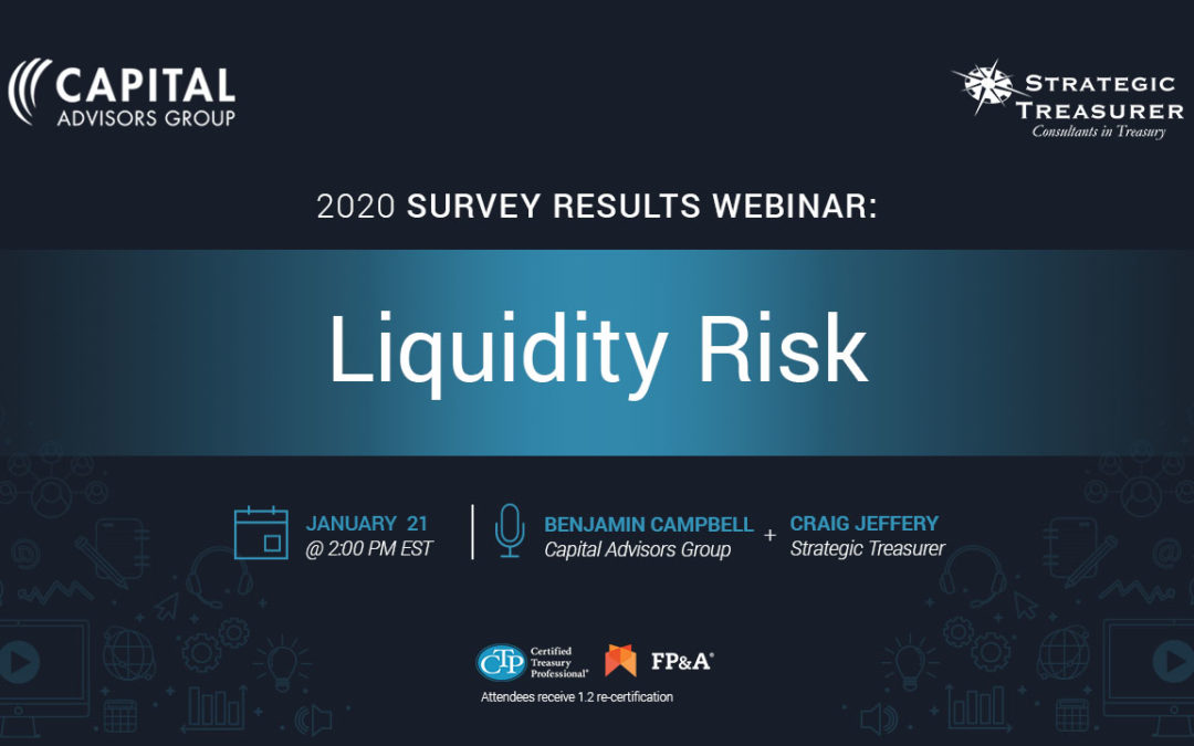 Liquidity Risk: Survey Results Webinar