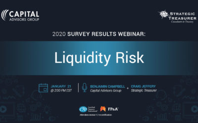 Liquidity Risk: Survey Results Webinar – CAG