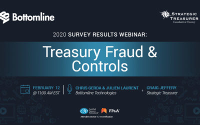 Treasury Fraud & Controls: 2020 Survey Results Webinar