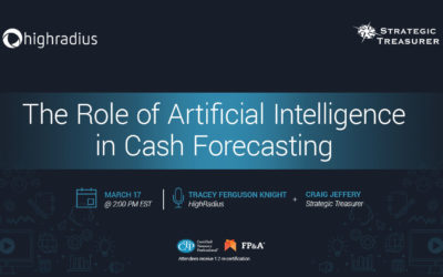 Webinar: The Role of Artificial Intelligence in Cash Forecasting