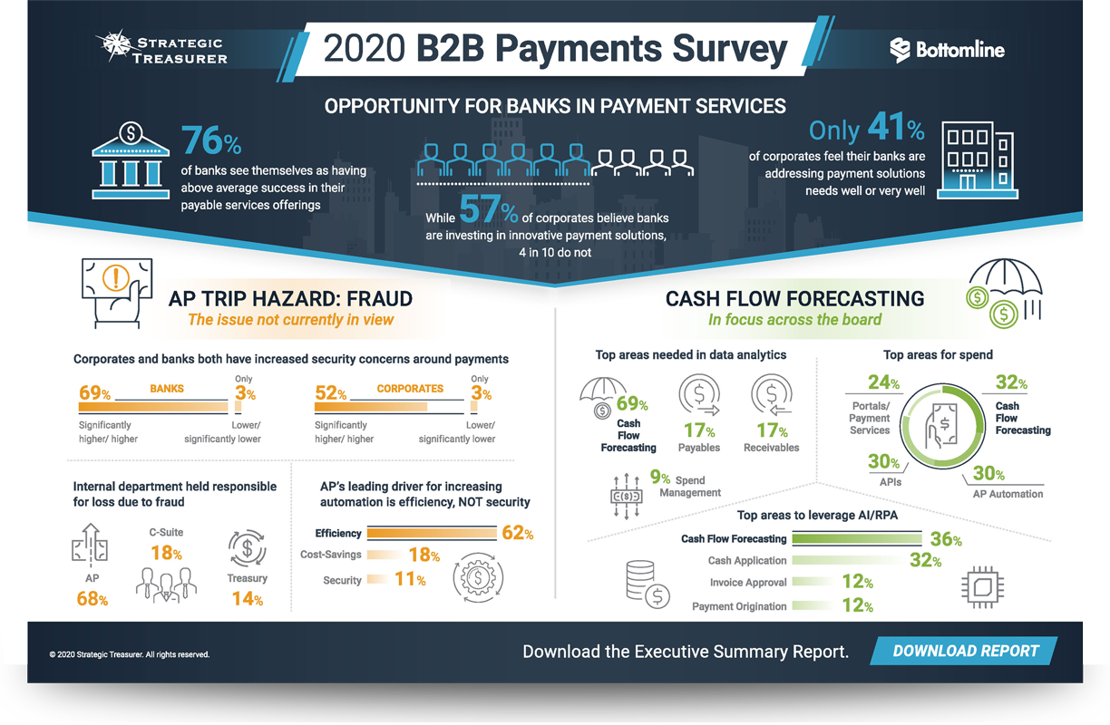 2020 B2B Payments Survey Infographic