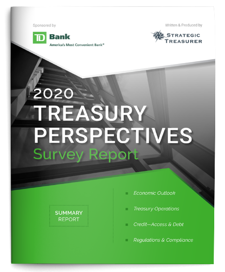 2020 Treasury Perspectives Survey Report