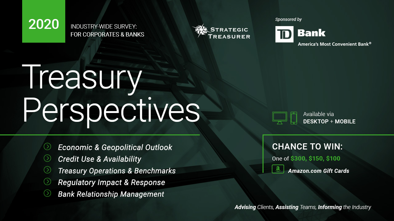 2020 Treasury Perspectives Survey