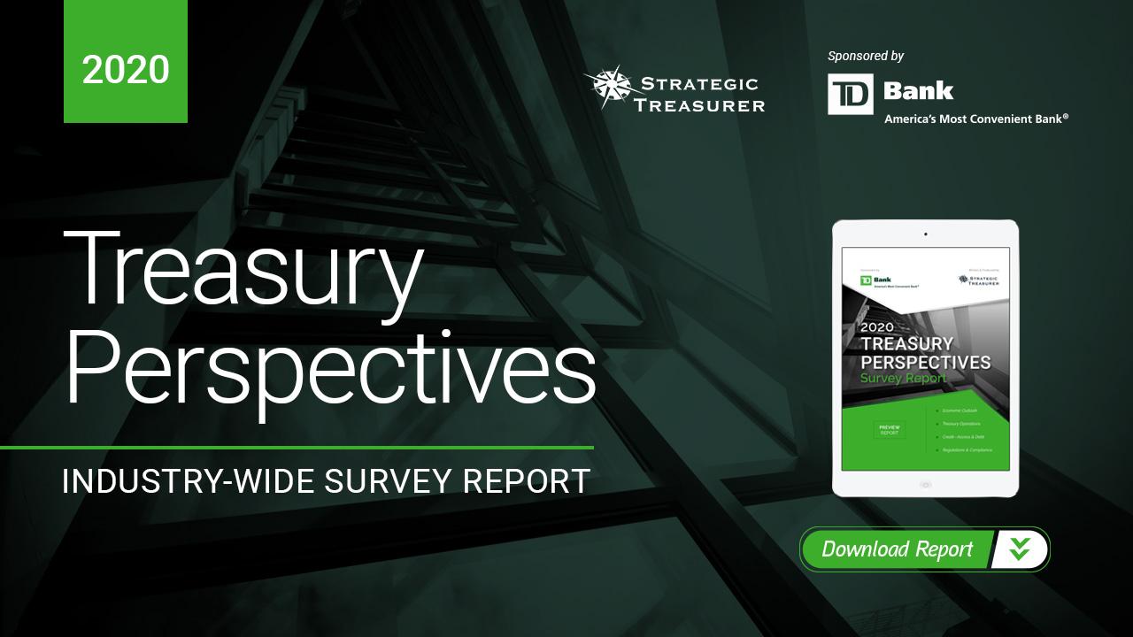 2020 Treasury Perspectives Survey Report