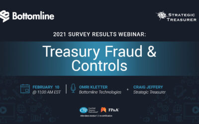 Webinar: Treasury Fraud & Controls: 2021 Survey Results