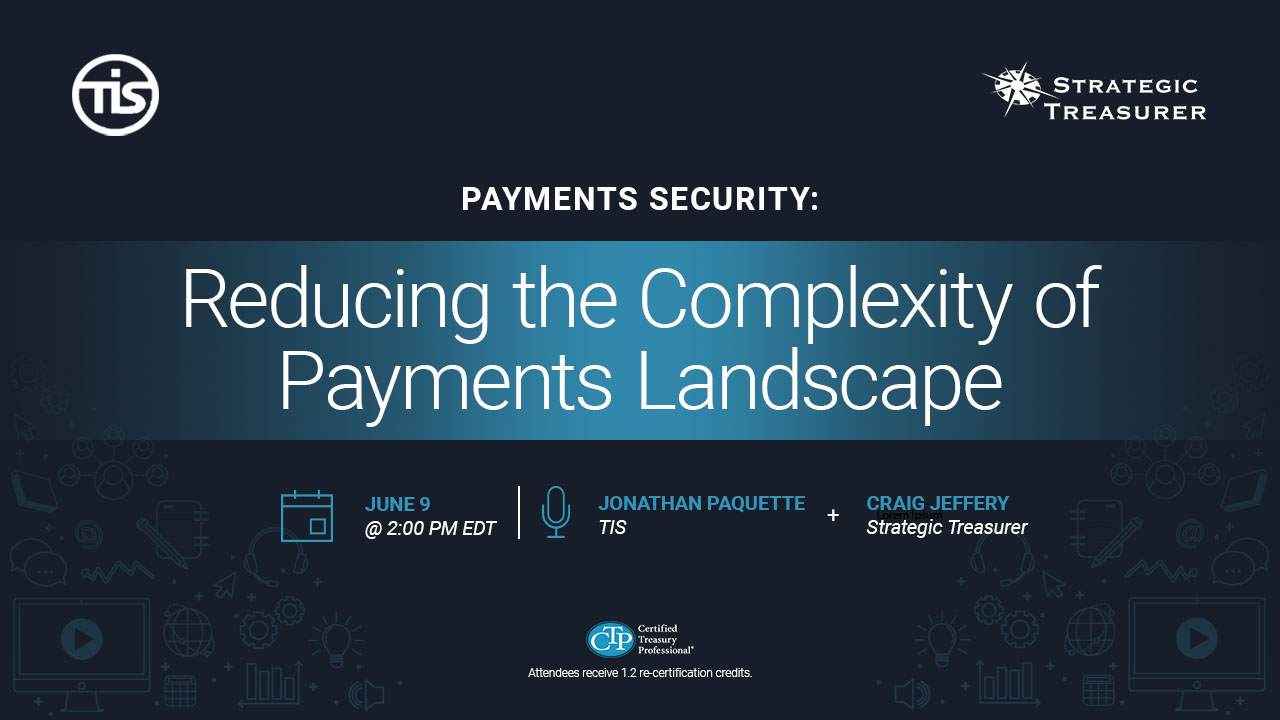 Reducing the Complexity of Payment Landscape Webinar