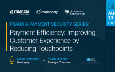 Webinar: Payment Efficiency – Improving Customer Experience by Reducing Touchpoints