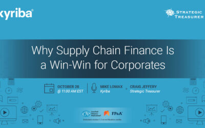 Webinar: Why Supply Chain Finance Is a Win-Win for Corporates