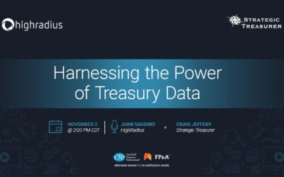 Webinar: Harnessing the Power of Treasury Data