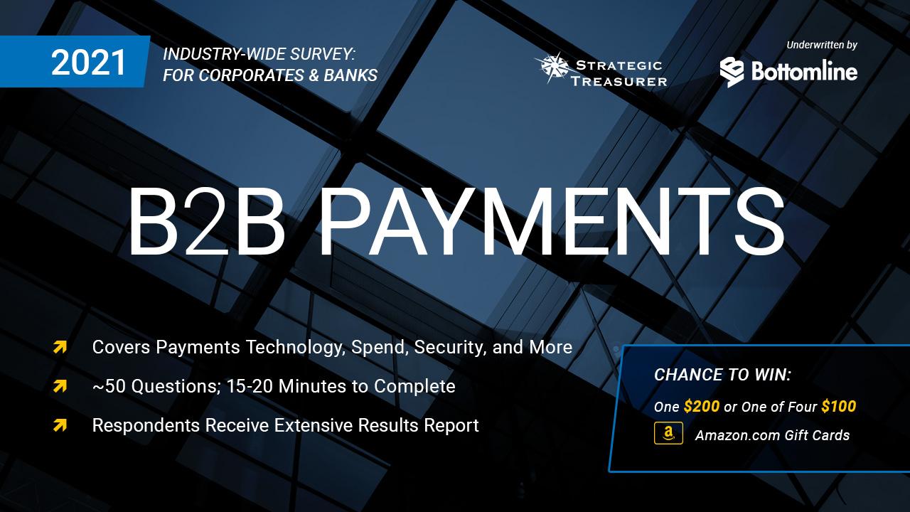 2021 B2B Payments Survey