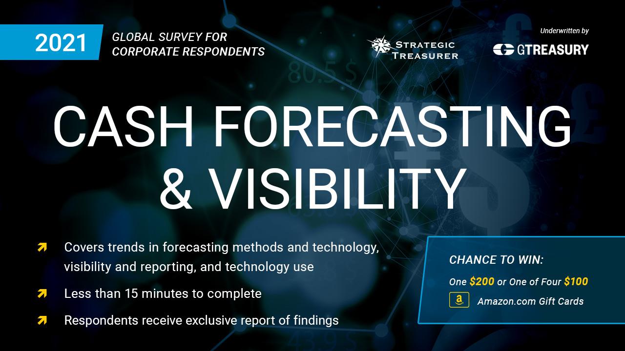 2021 Cash Forecasting & Visibility Survey