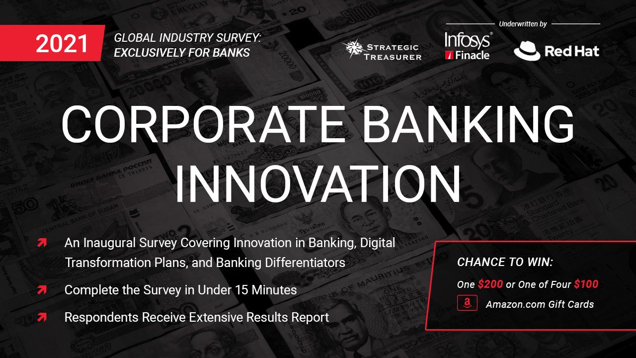 2021 Corporate Banking Innovation Survey