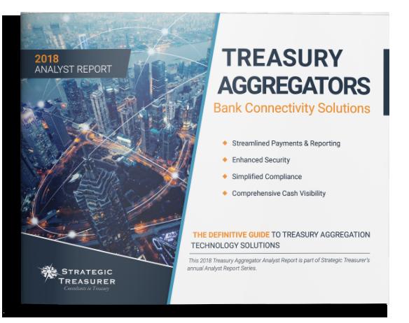 2017 Treasury Aggregator Fintech Analyst Report