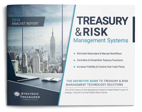 2017 Treasury + Risk Management Fintech Analyst Report (TMS/TRMS)