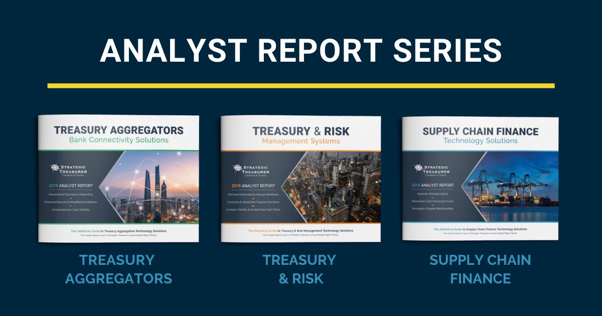 2017 Treasury Aggregator Analyst Report