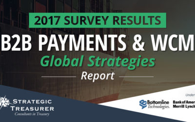 2017 B2B Payments & WCM Strategies