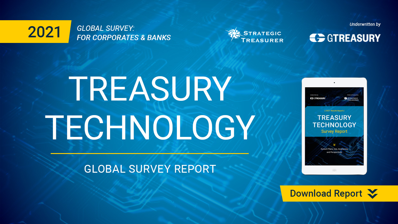 Download the 2021 Treasury Technology Survey Report