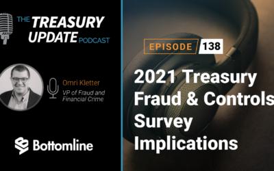 #138 – 2021 Treasury Fraud & Controls Survey Implications