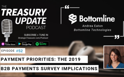 #52 – Payment Priorities: The 2019 B2B Payments Survey Implications