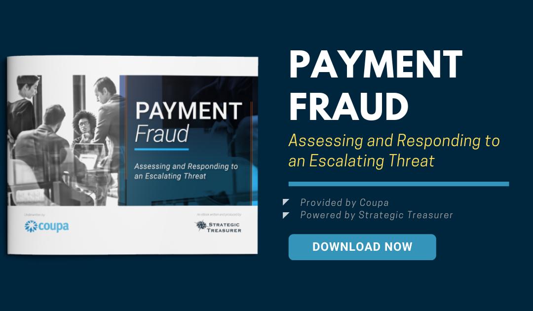 Payment Fraud eBook – Strategic Treasurer & Coupa