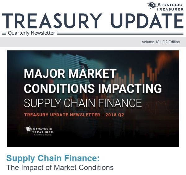Summer 2018 Treasury Update Newsletter