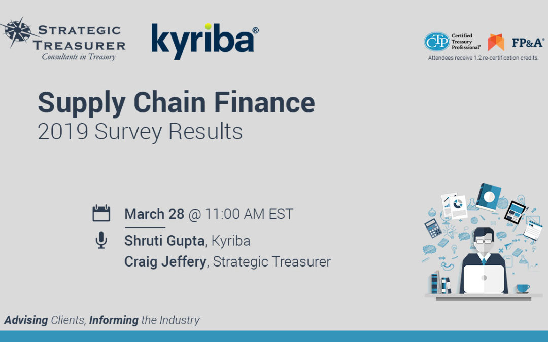 2019 Supply Chain Finance Survey Results Webinar