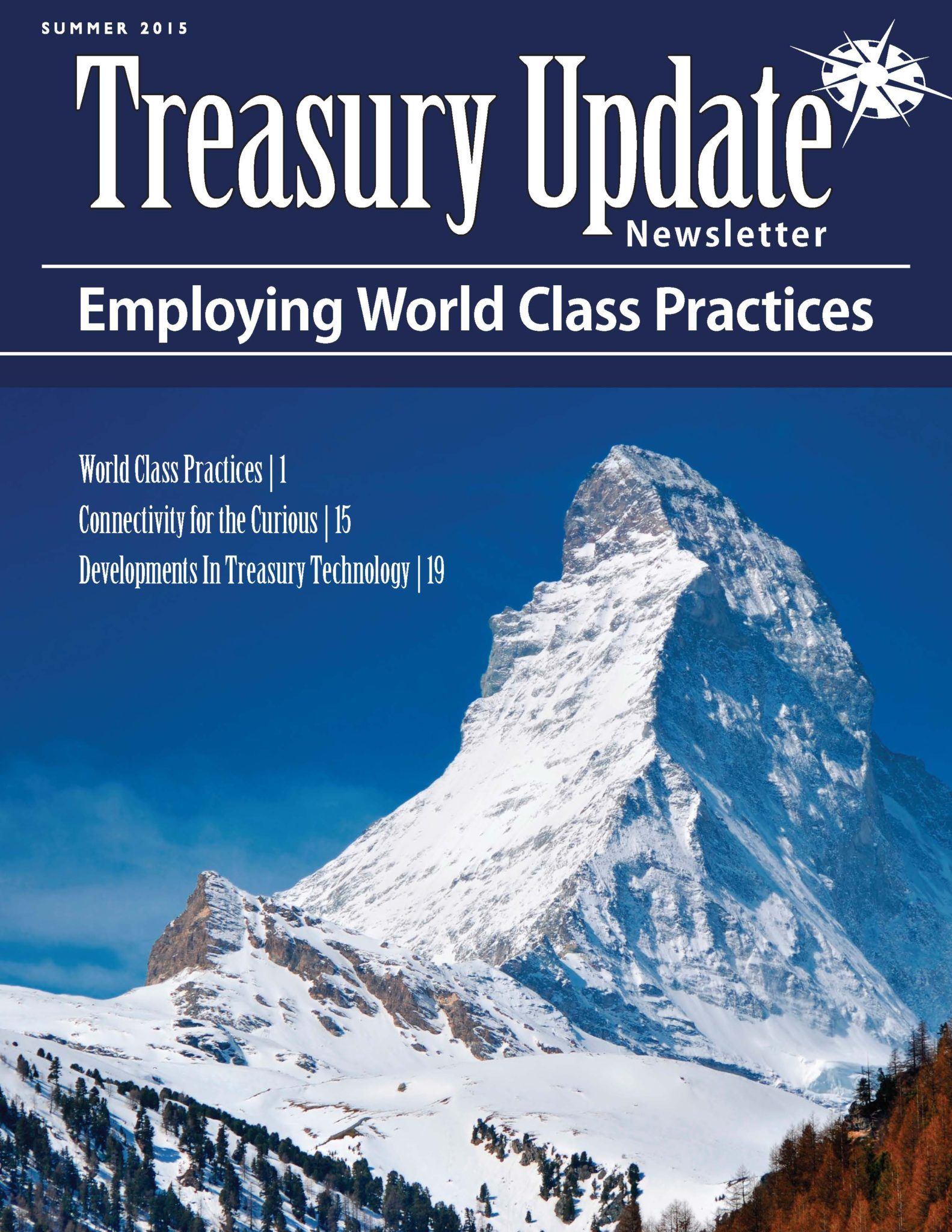 Summer 2015 Treasury Update Newsletter