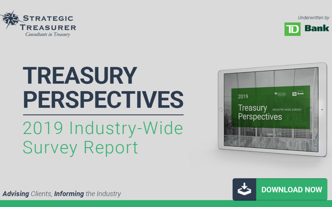 2019 Treasury Perspectives Survey