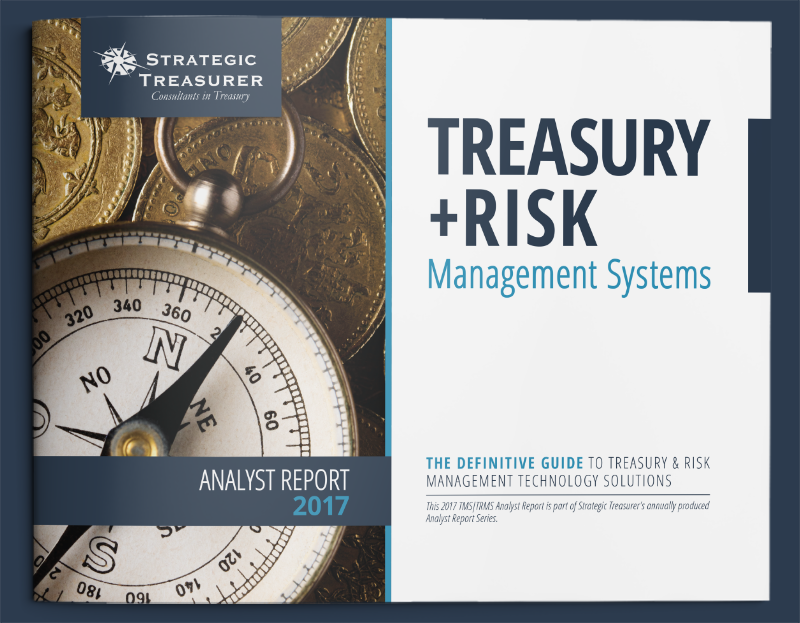 2016 Treasury + Risk Management Systems Fintech Analyst Report