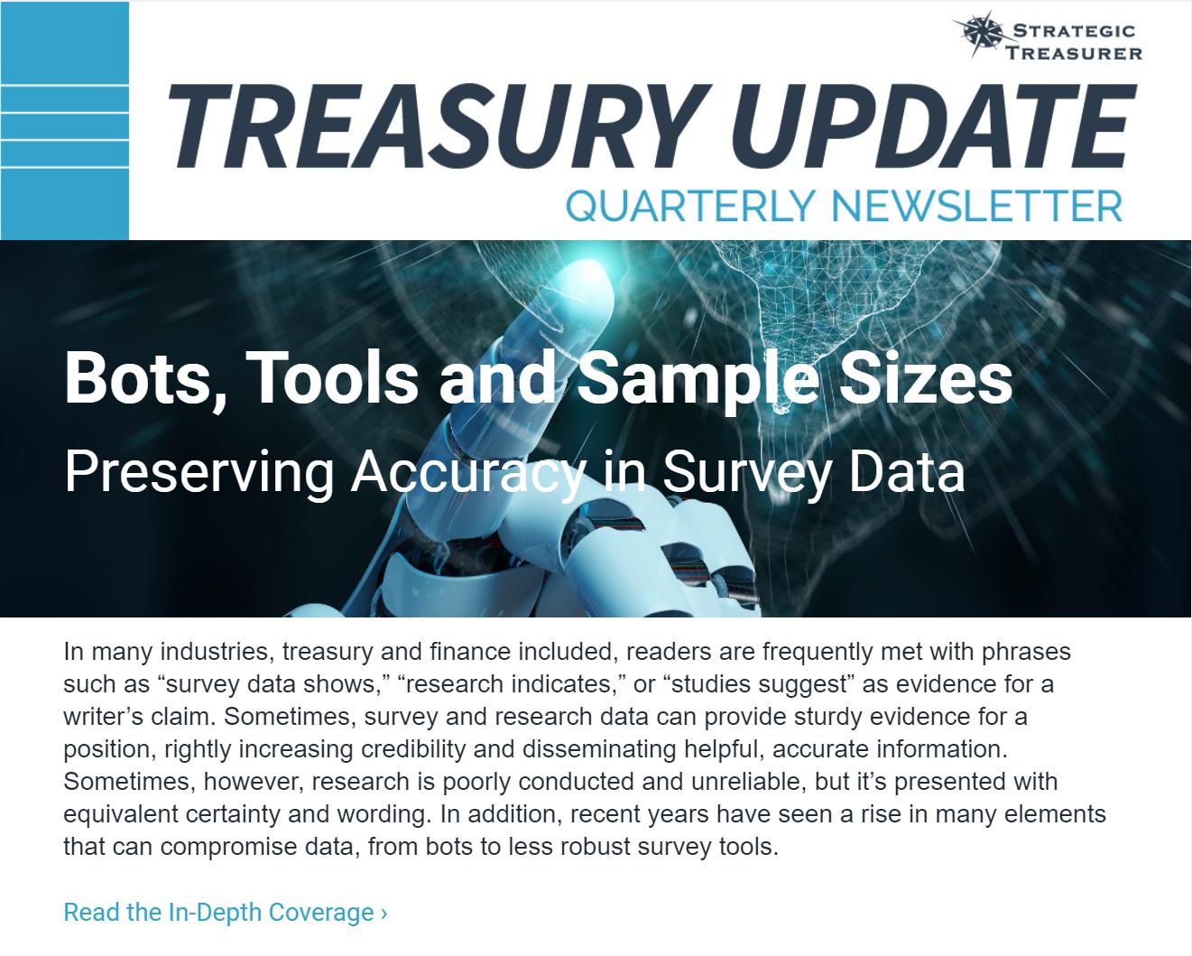 Treasury Update Newsletter, 2021 Q2