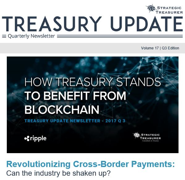 Fall 2017 Treasury Update Newsletter