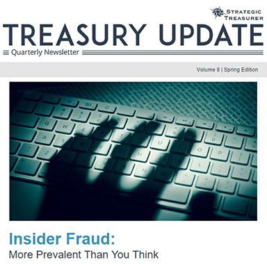 Spring 2017 Treasury Update Newsletter