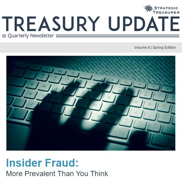 Spring 2017 Treasury Update Newsletter