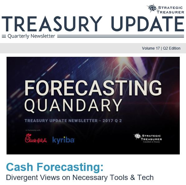Summer 2017 Treasury Update Newsletter