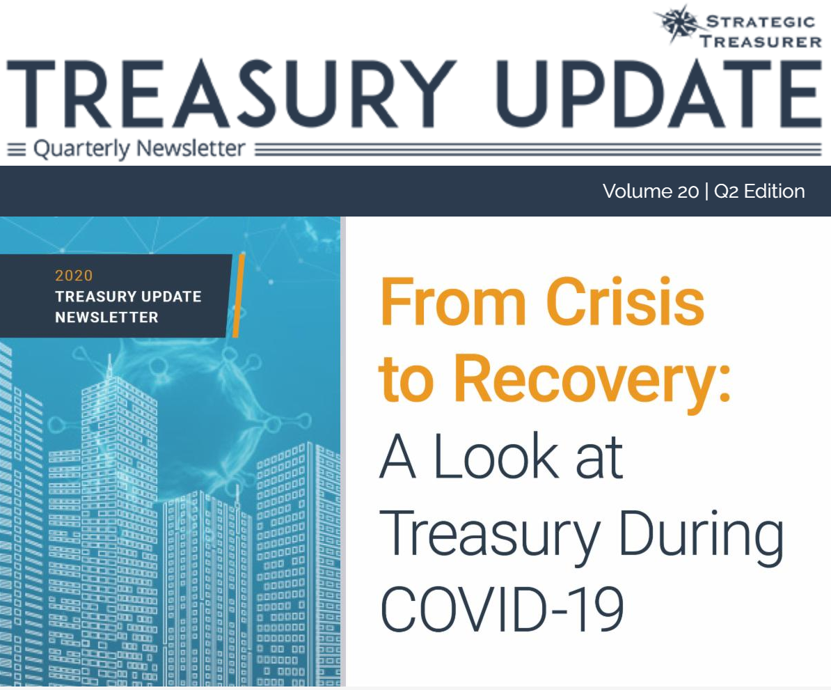 Treasury Update Newsletter - V20 Q2