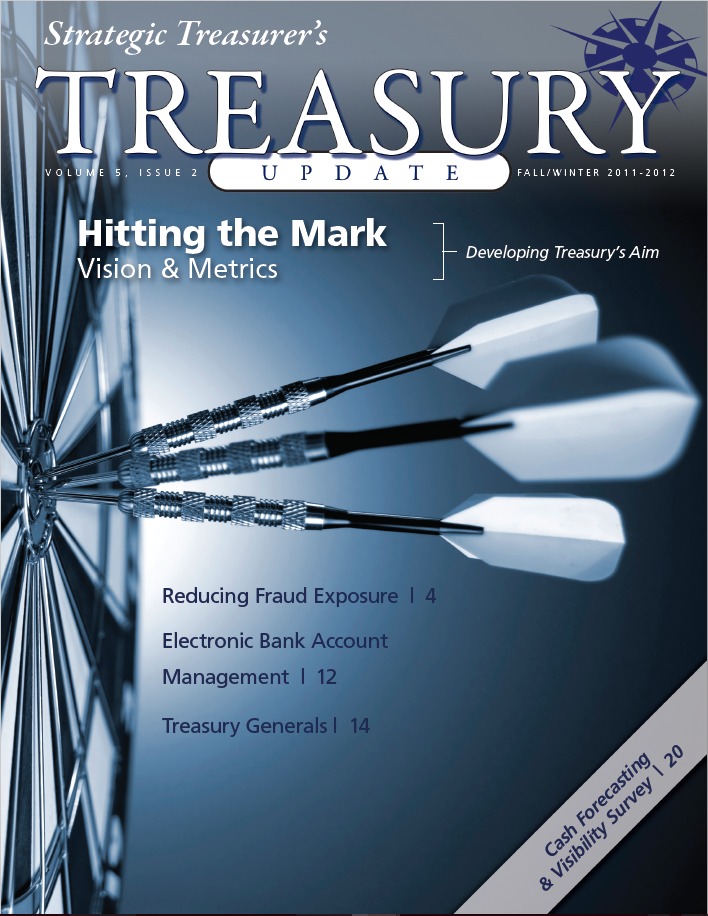 Fall/Winter 2011-2012 Treasury Update Newsletter