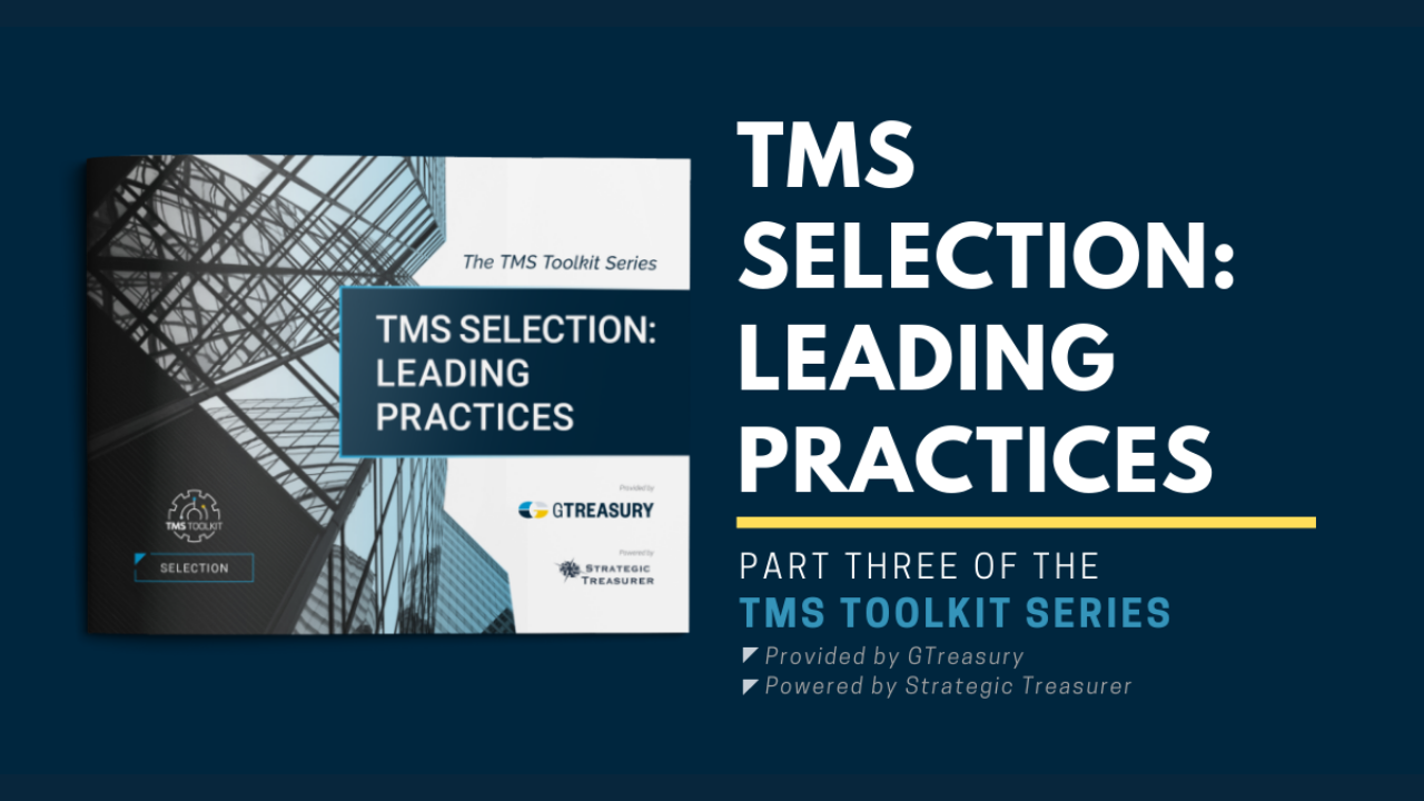 TMS Toolkit - TMS Selection: Leading Practices