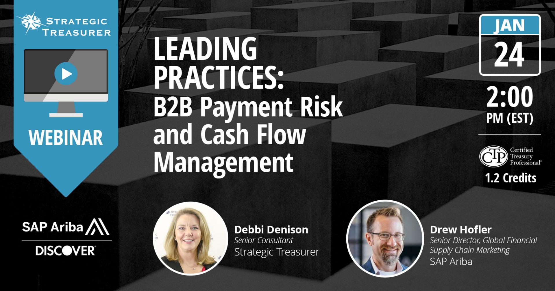 Leading Practices: B2B Payment Risk and Cash Flow Management Webinar