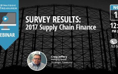 Survey Results: 2017 Supply Chain Finance Webinar