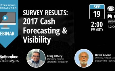 Survey Results: 2017 Cash Forecasting & Visibility [Webinar with Bottomline Technologies]